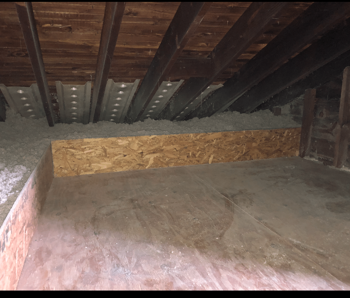 Cellulose Attic Insulation- Flushing, NY - After Photo