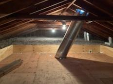 Cellulose Insulation & Storage Platform- Great Neck, NY - After Photo