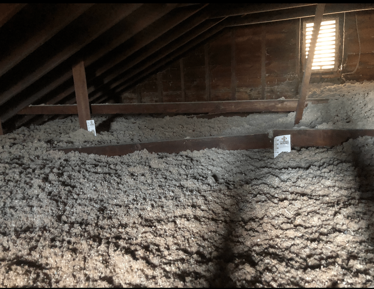 Blown in Cellulose Insulation in Attic - Flushing, NY - After Photo