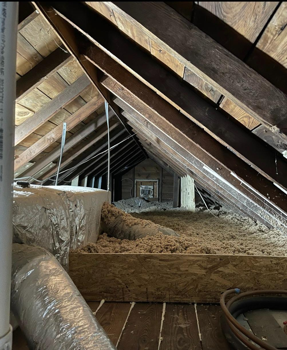 Blown-In Cellulose Insulation- Rockaway Park, NY - After Photo