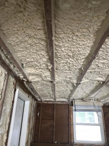 Garage Insulation/Spray Foam in St. James, NY - After Photo