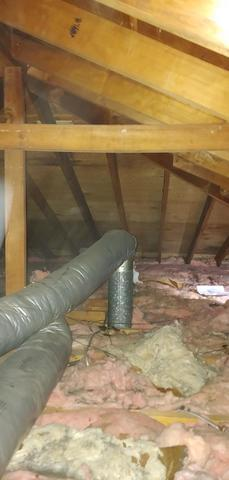Blown Cellulose  Attic insulation-Merrick