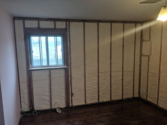 Spray Foam in Bedroom in St. James , NY