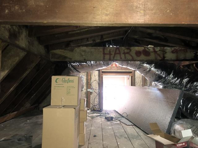 SuperAttic -Douglaston NY - Before Photo