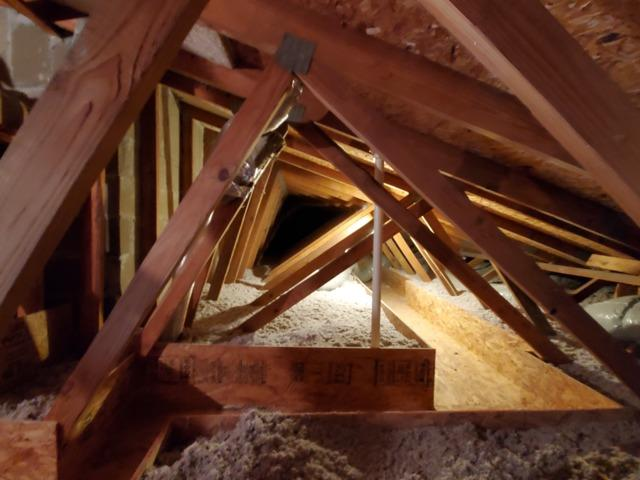 Cellulose Attic Insulation & Mechanical Catwalk- Sayville, NY