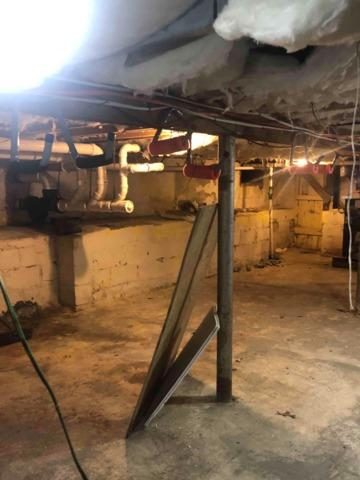 Crawl Space Encapsulation System - Center Moriches, NY