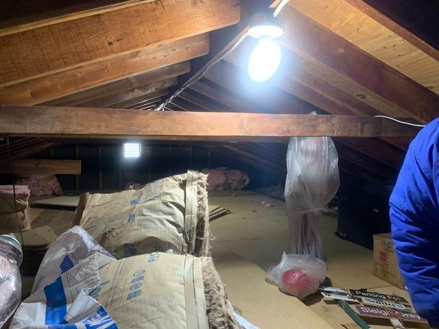 Cellulose Insulation & Storage Platform- Brentwood, NY