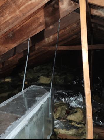 Blown in Cellulose Insulation in Attic - Plainview, NY