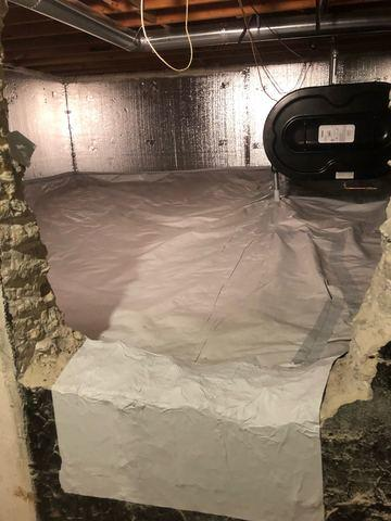 Crawl Space Insulation and Spray Foam Rim Joist - East Setauket, NY