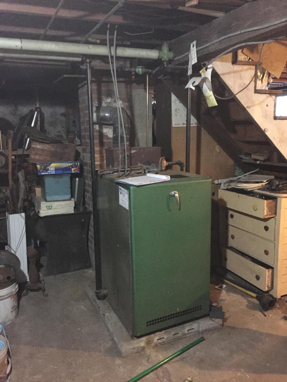 Oil Boiler Replacement in Bantam CT - Before Photo