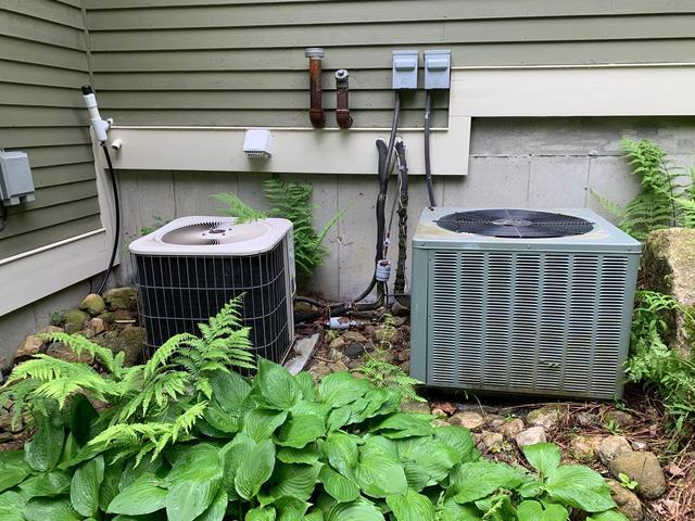 Central air conditioning replacement in Litchfield, Connecticut
