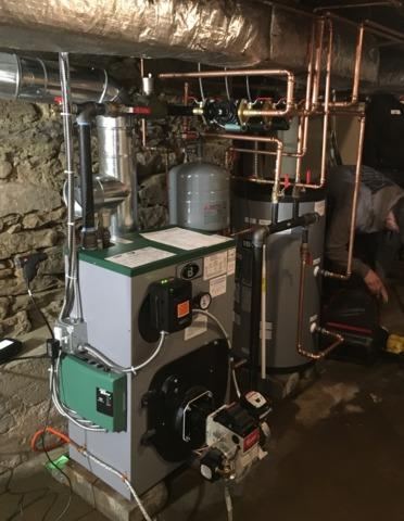 Boiler upgrade in Woodbury, CT - After Photo