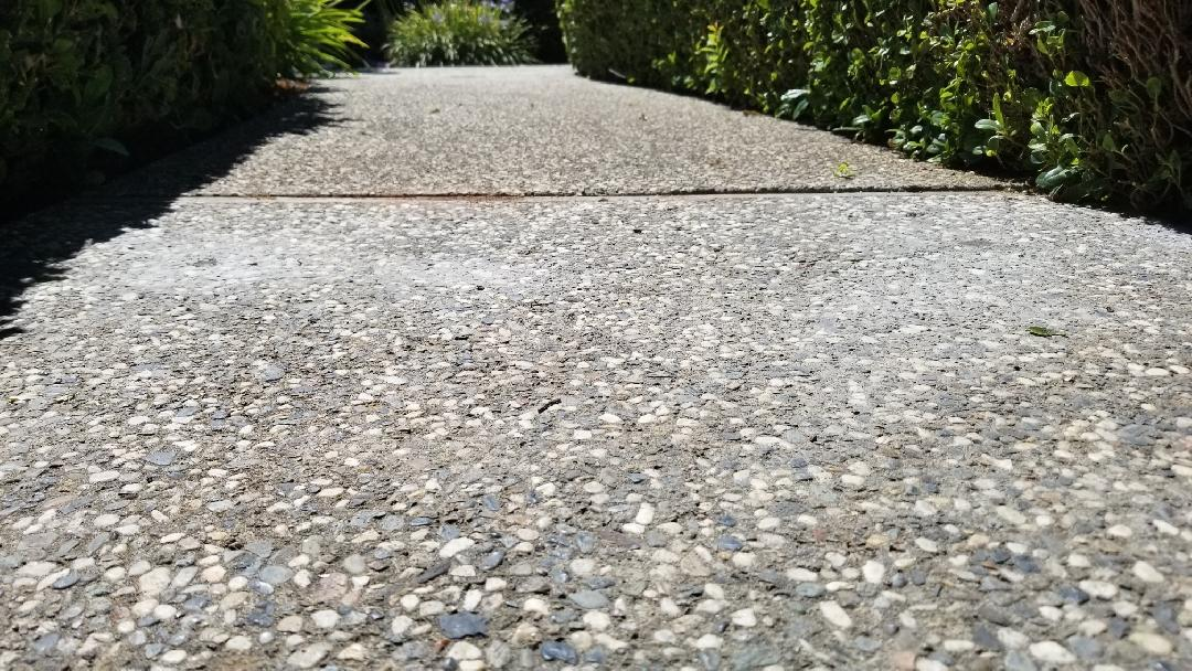 Lifted and Leveled Sinking Sidewalk in Granite Bay - After Photo