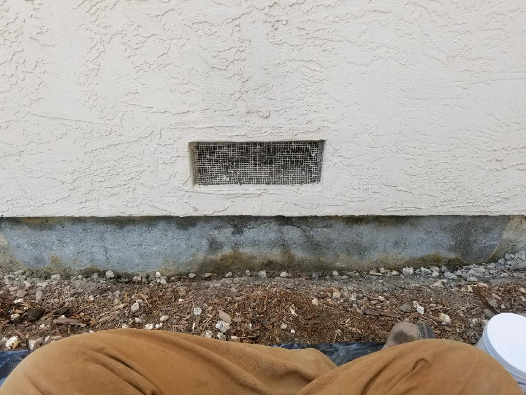 Foundation Crack Repair with Carbon Armor in San Ramon, CA - Before Photo