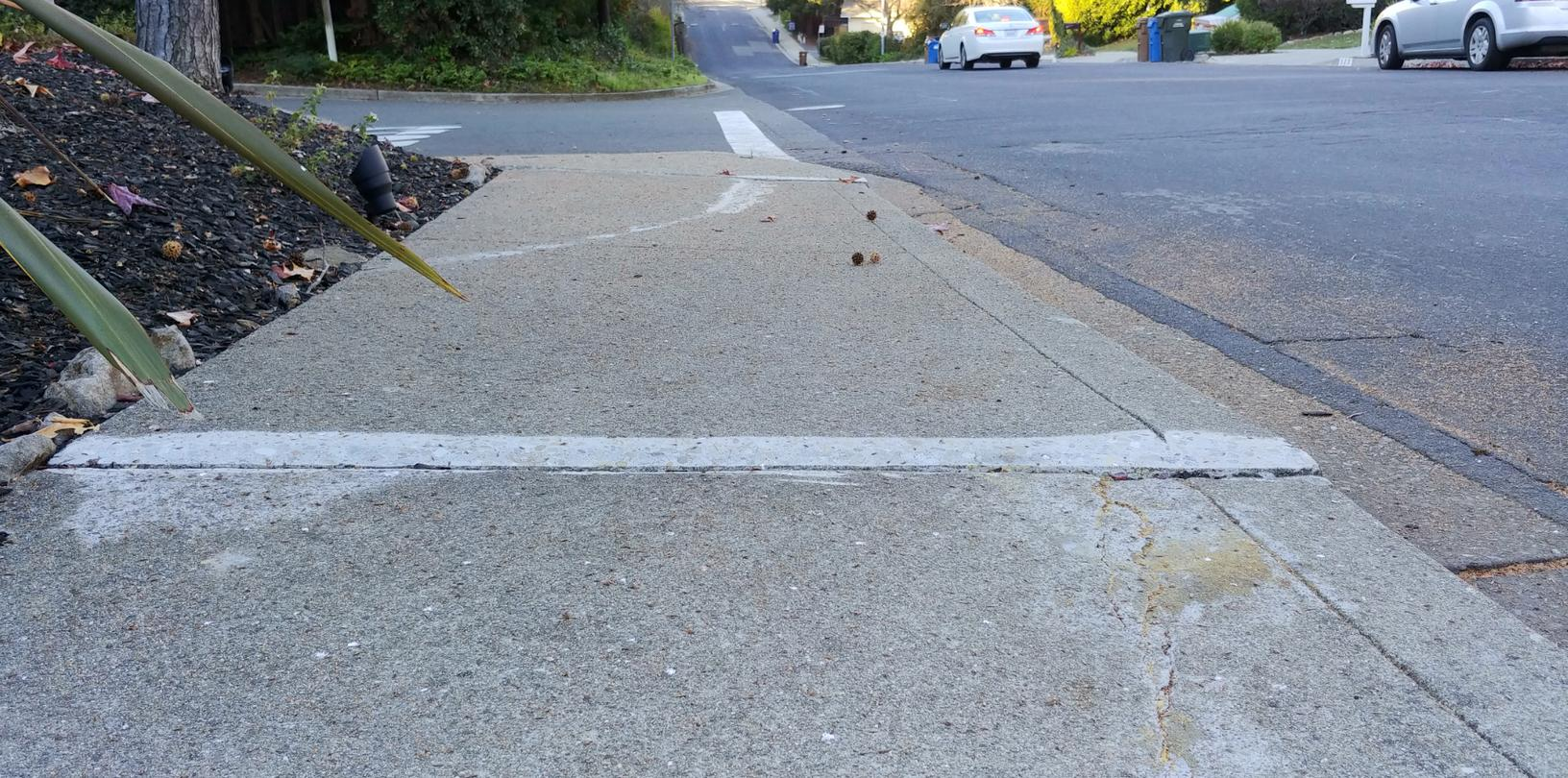 Remove Tripping Hazard from Sidewalk of Martinez, CA Home - After Photo