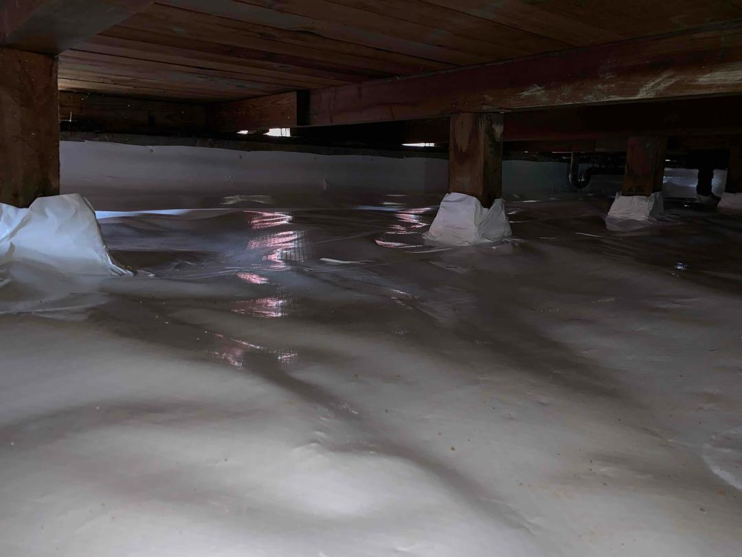CleanSpace Moisture Barrier and Sump Pump in Citrus Heights, CA - After Photo