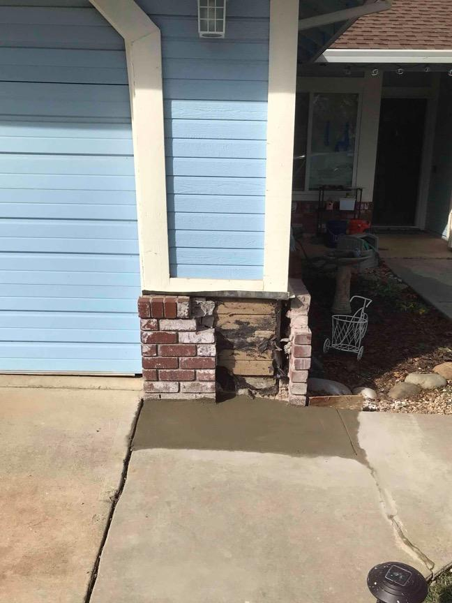 Sinking Foundation Fixed with Push Piers in Folsom, CA - After Photo
