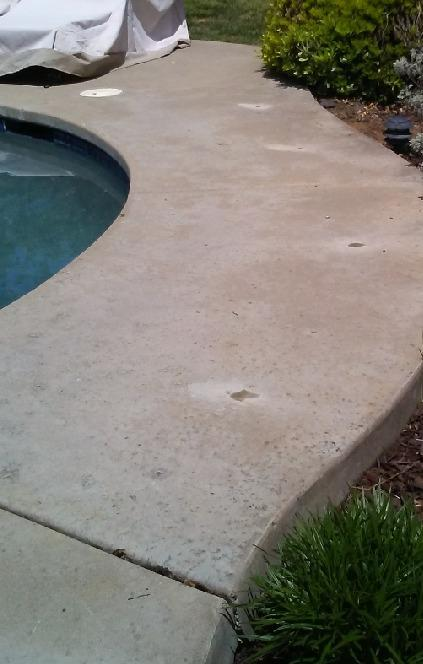 Pool Deck Fixed in Fair Oaks, CA - After Photo