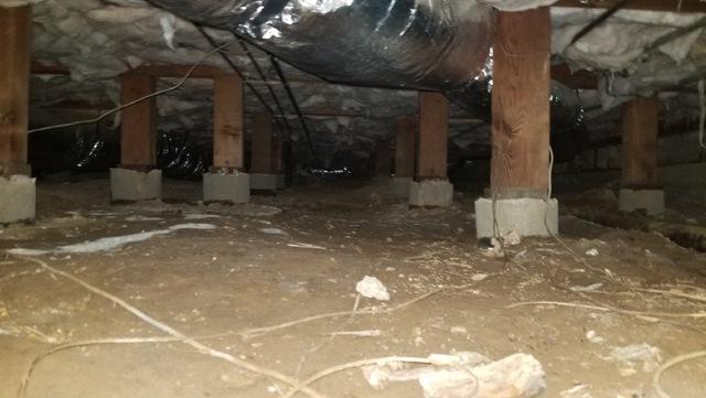 Plumbing Leak in Crawl Space in Carmichael California