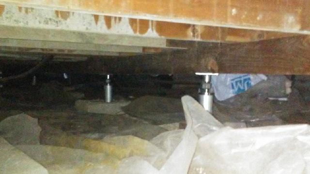 Smart Jacks fix Sagging Floors in Concord, CA