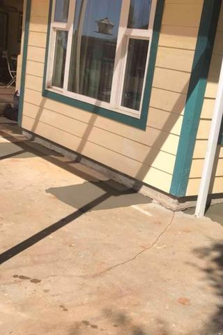 House Stabilized with Push Piers and Walkways Fixed with PolyLevel in Oroville, CA