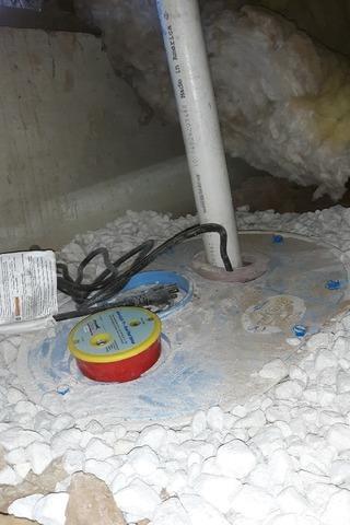 Water In Crawlspace In Wilton, CA