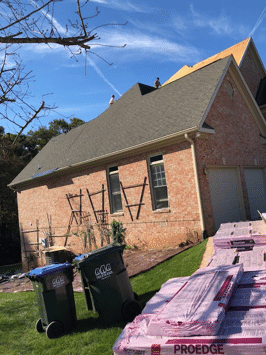 Roof Replacement in Vienna, VA - Before Photo