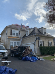 Roof Replacement in Bristow, VA - Before Photo