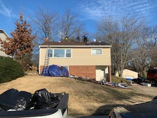 Dumfries, VA Single-Family Home New Roof - Before Photo