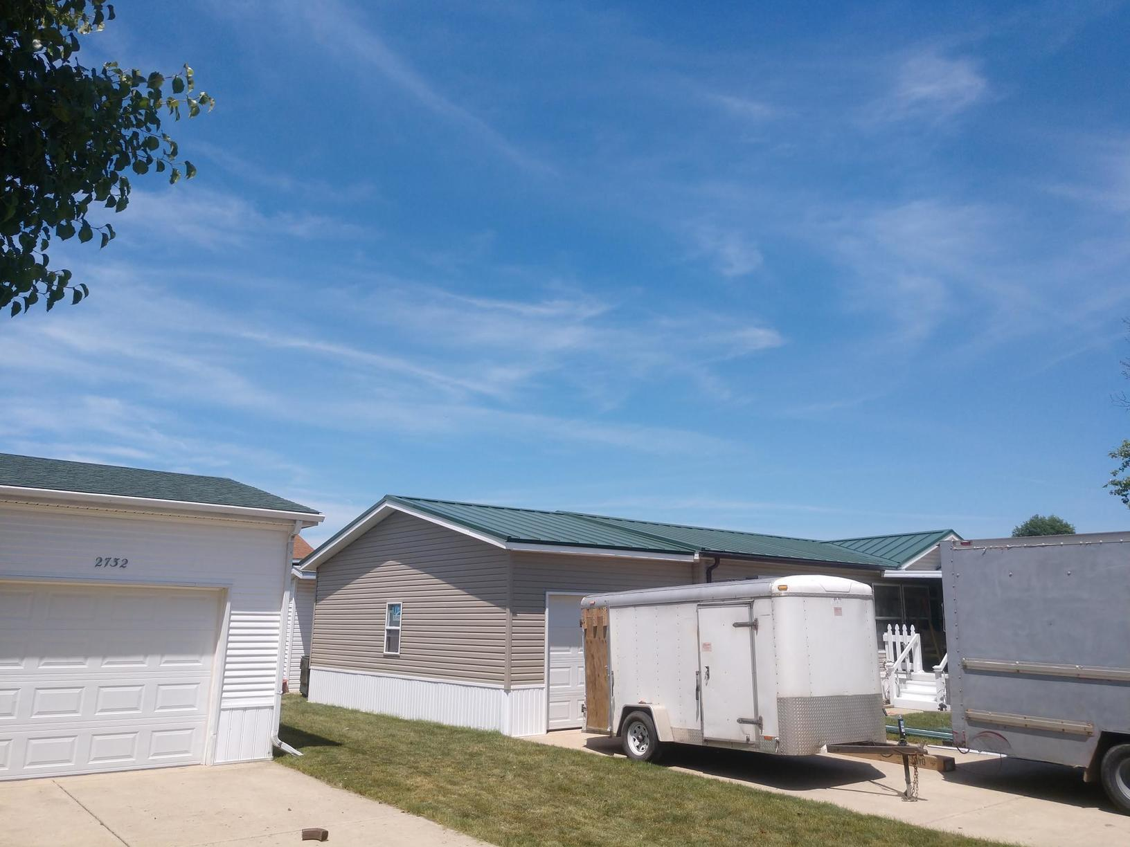 Anderson Garage Metal Roof - After Photo