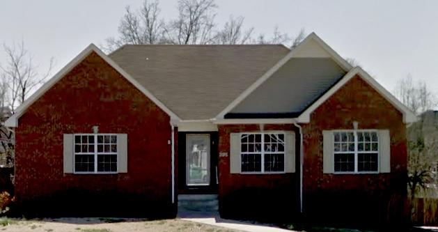 Pleasant View, TN Home with New Shingle Roof - Before Photo