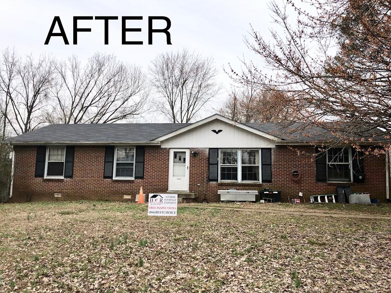 Clarksville, TN Single Family Home Roof Replacement - After Photo