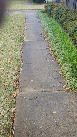Uneven Sidewalk Repaired in Shreveport, LA