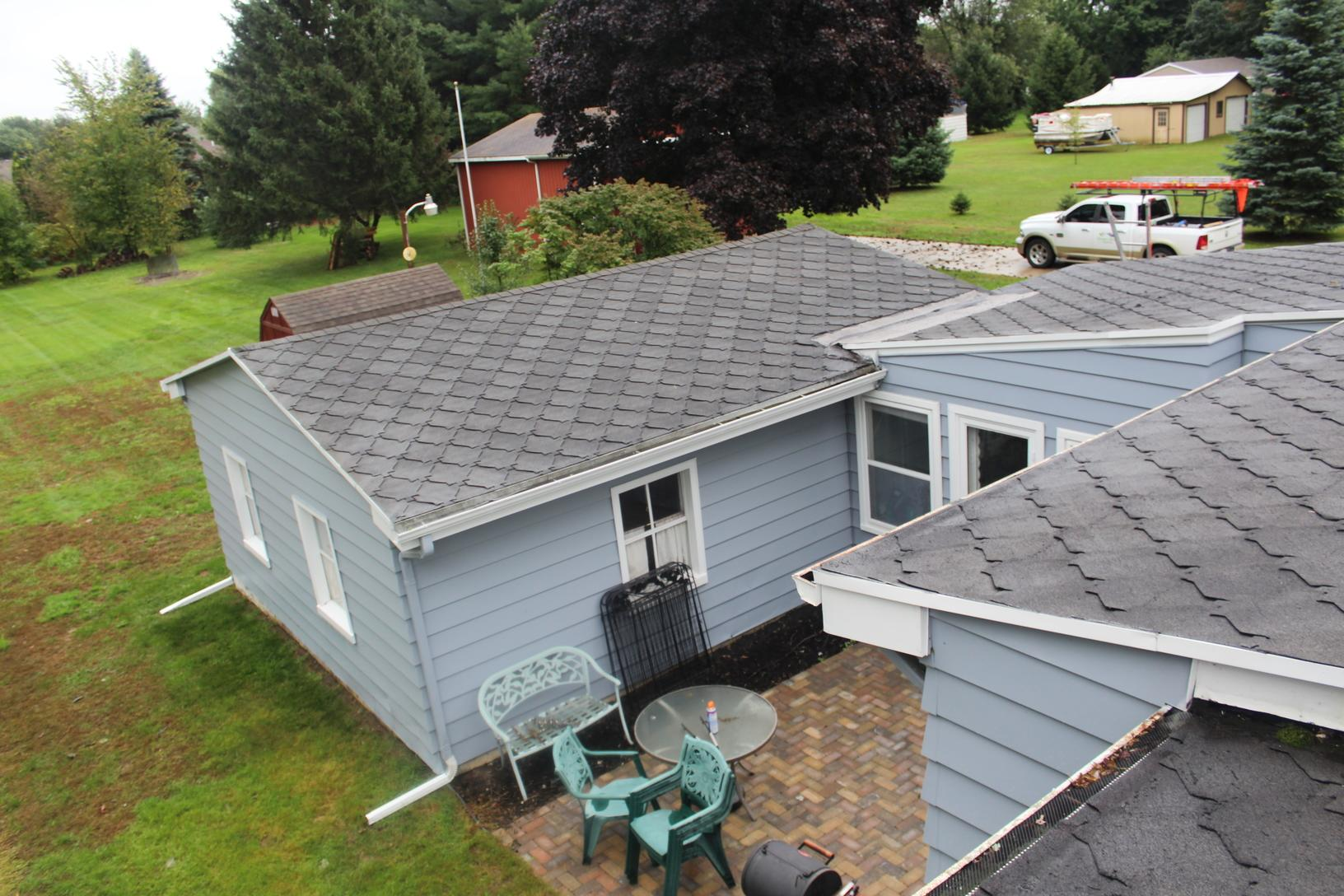 Green Built Roofing Before Amp After Photo Set Roof