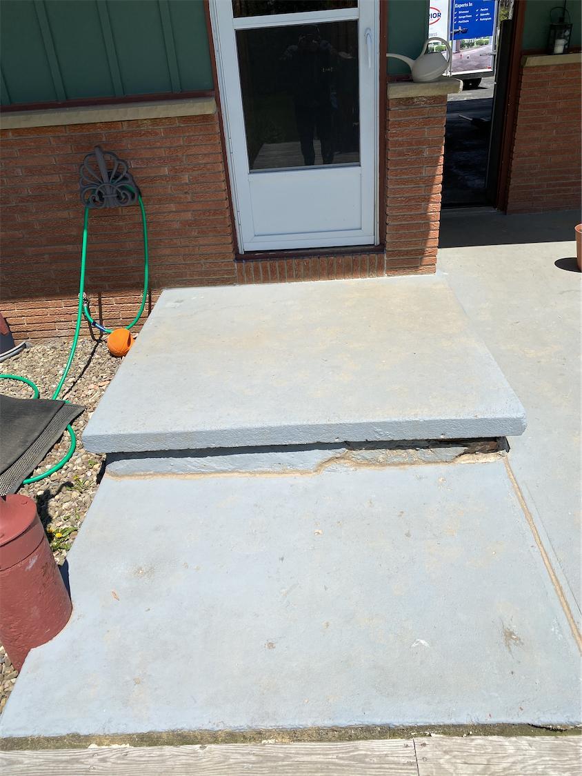 Concrete Repair - After Photo
