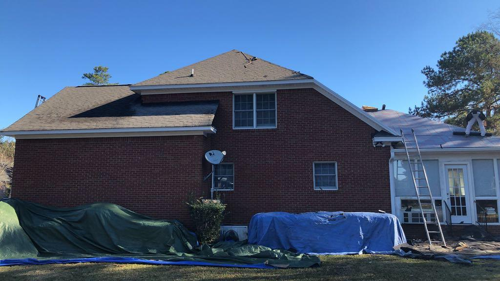 Columbia, SC Roof Replacement - Before Photo