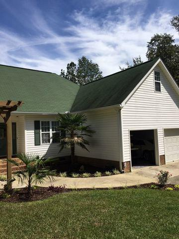 Gilbert, SC Wind damaged Roof - Before Photo