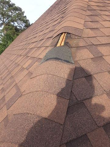 Columbia, SC - Roof Repair - Before Photo