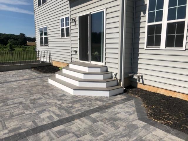 Backyard Patio & Steps - After Photo