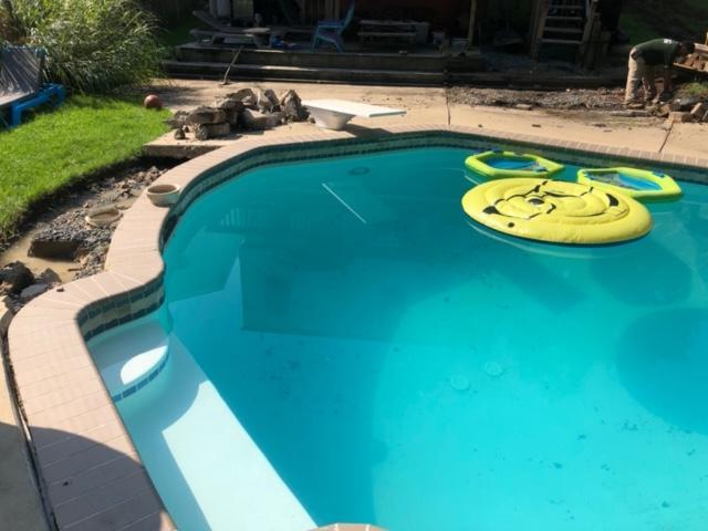 Pool Patio in Annapolis - Before Photo