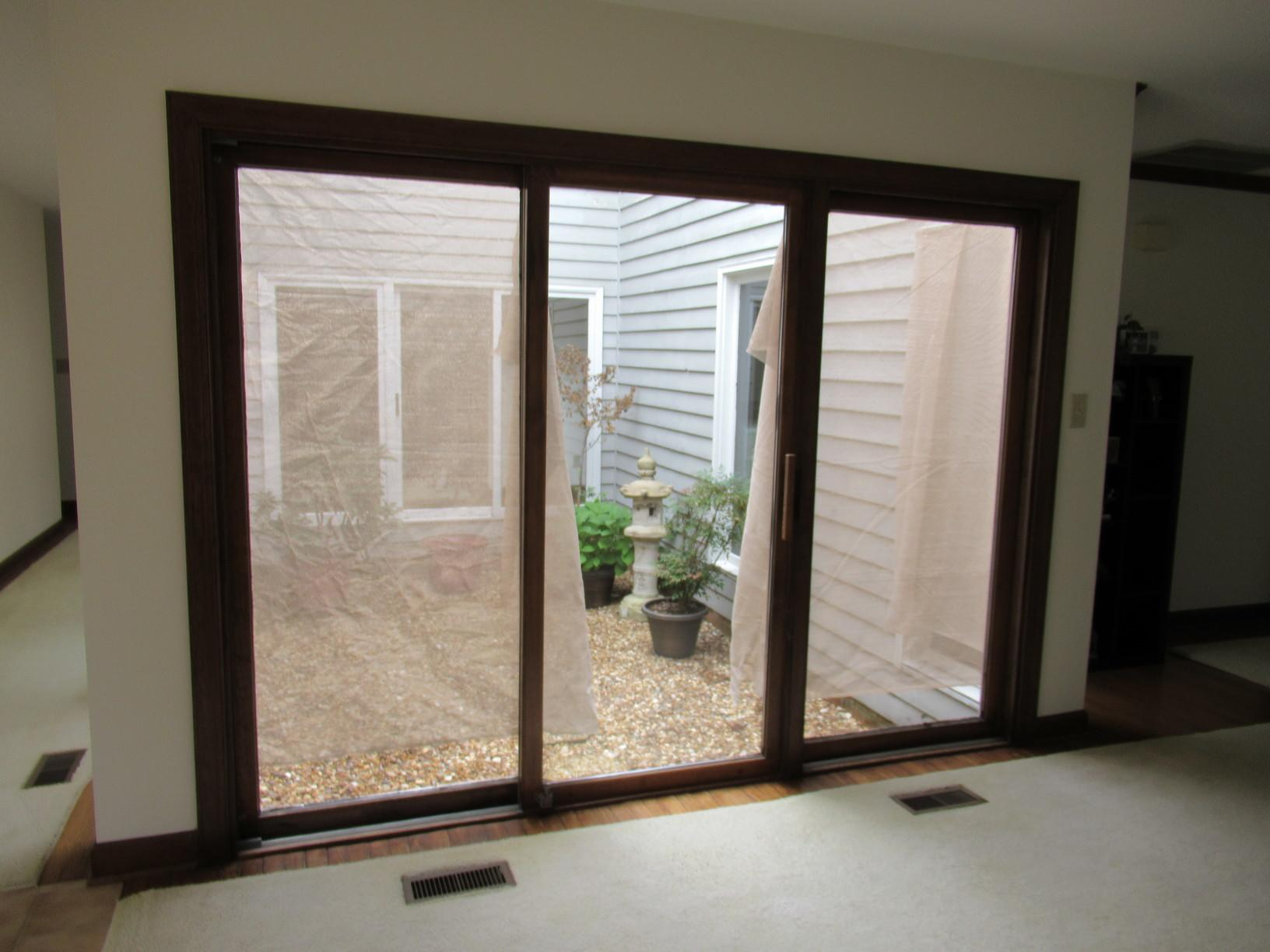 Kingsmill Custom-Color Window & Door Replacement - Before Photo