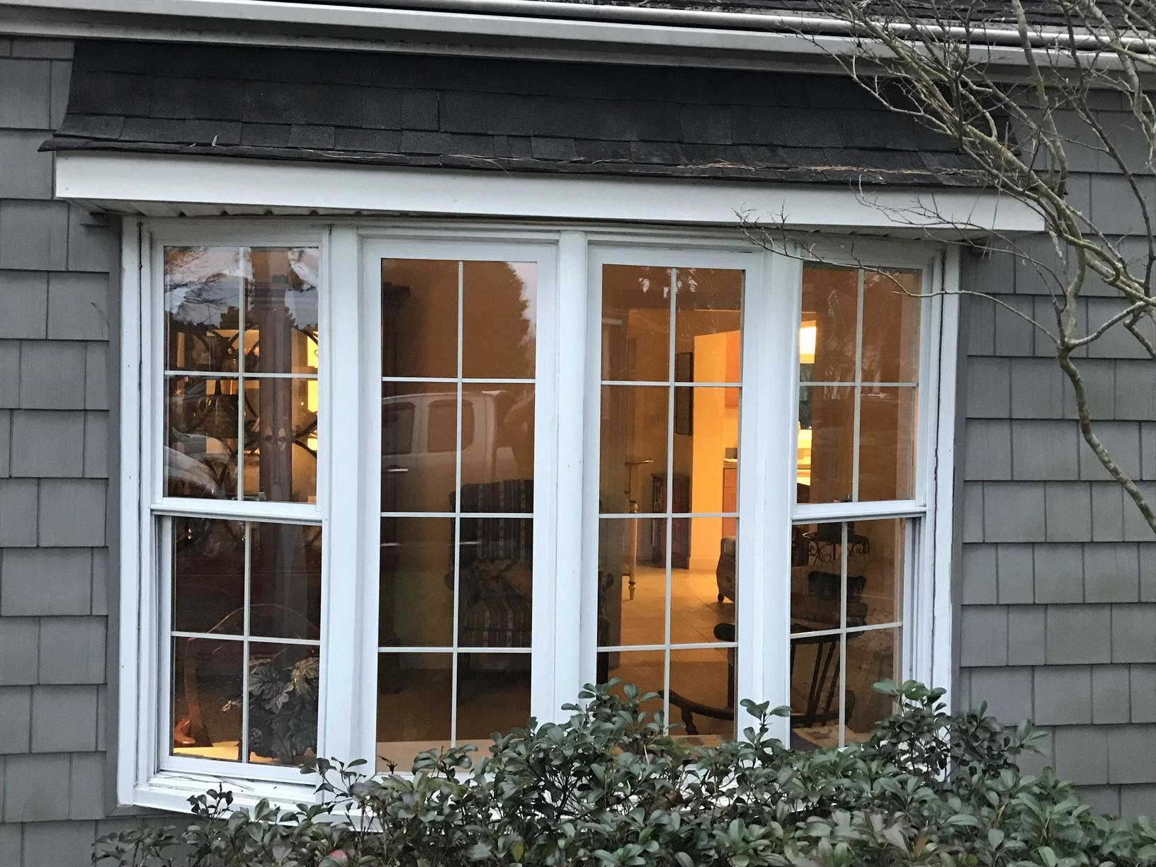 Bow Window Replacement in Gloucester, VA - Before Photo