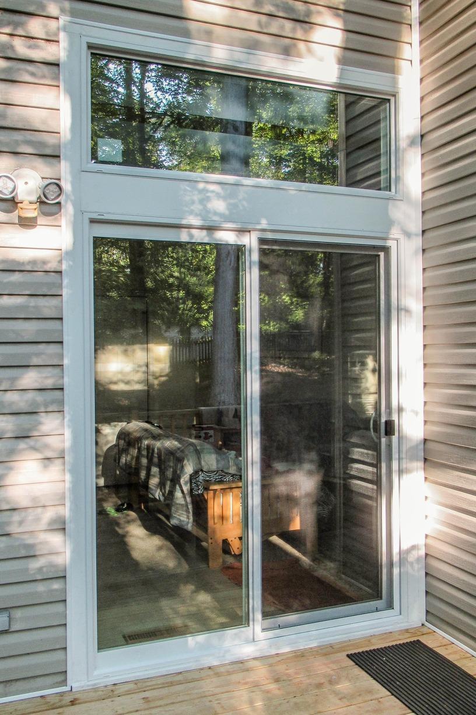 Swing Door to Sliding Patio Door Replacement in Williamsburg VA - After Photo