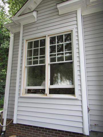 Wood Window Replacement in Newport News, VA - Before Photo