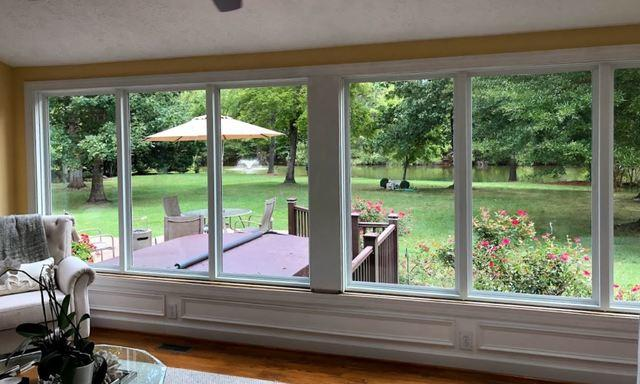 Restoration Series Picture Window Replacement - Williamsburg, VA - After Photo