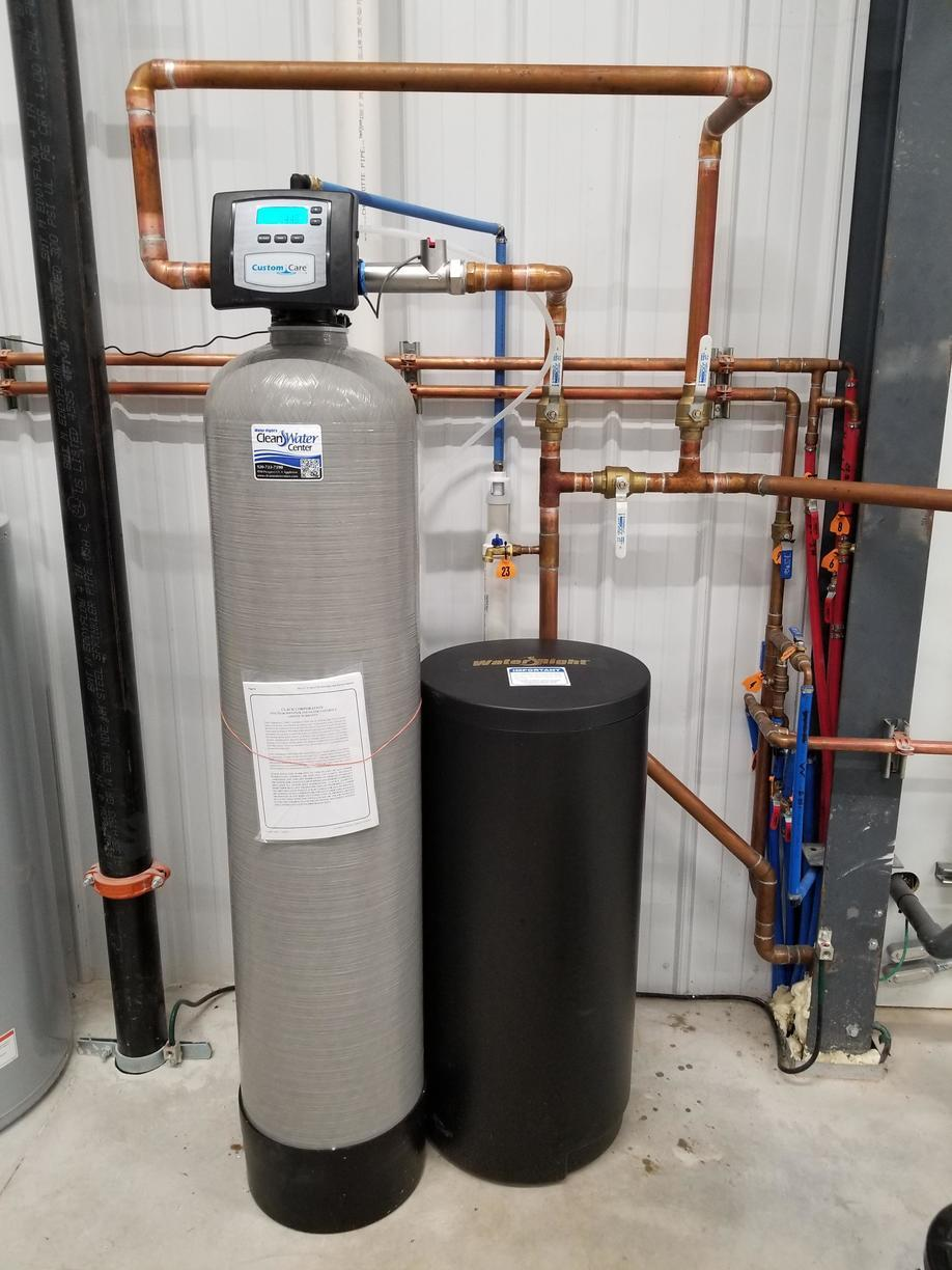 Water Softener Installation- Shawano, WI - After Photo