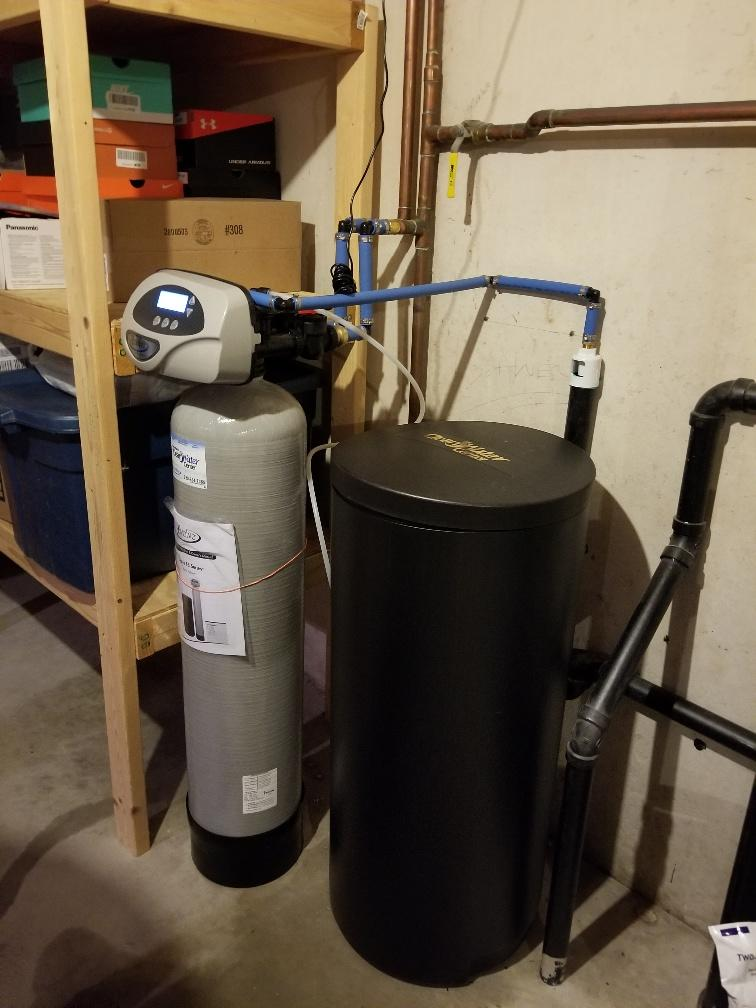 Water Softener Replacement - Howard, WI - After Photo