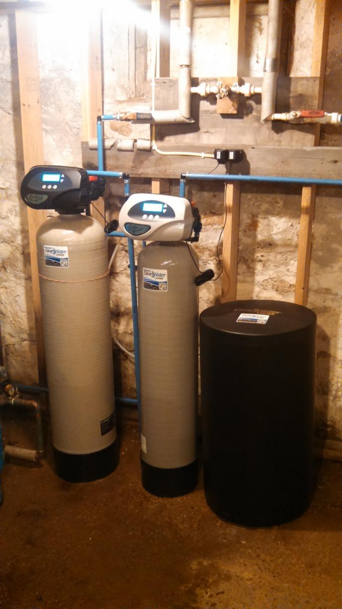 New Softener and Iron Filter - Pickett, WI - After Photo