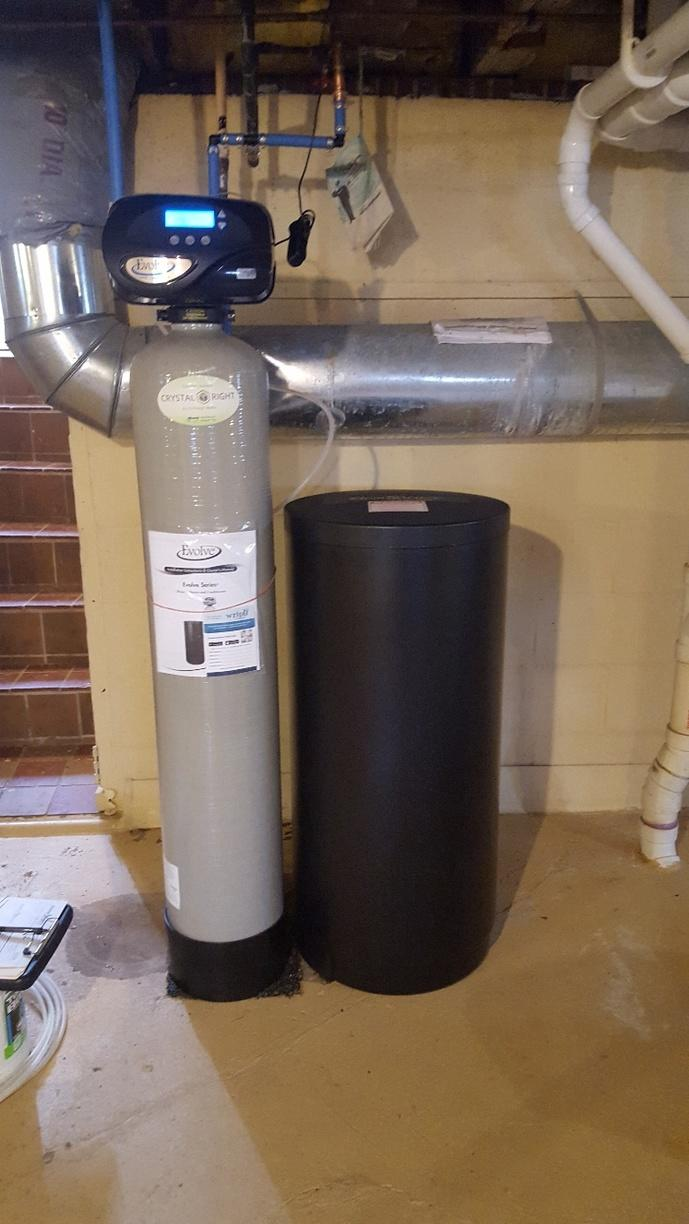 NEW WATER CONDITIONER AND REVERSE OSMOSIS - After Photo