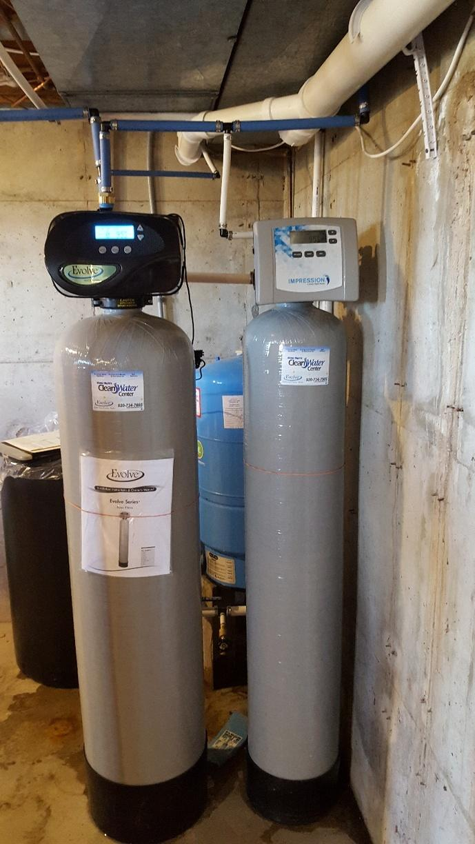 NEW SULFUR FILTER in De Pere, WI - After Photo